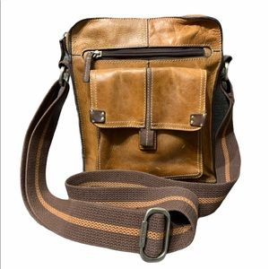 Vintage Fossil Leather Crossbody